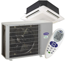 Performance Series Duct-Free In-Ceiling Cassette Heat Pump System